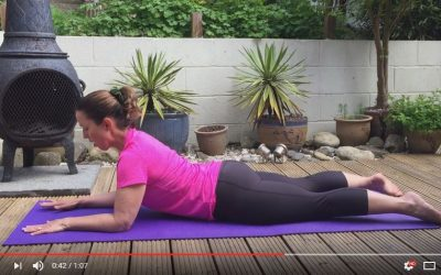 Swan Dive Abdominal Stretch