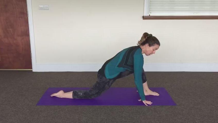 Hip Flexor Stretch Kneeling
