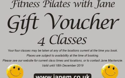 Gift Voucher (4 Classes) – £26