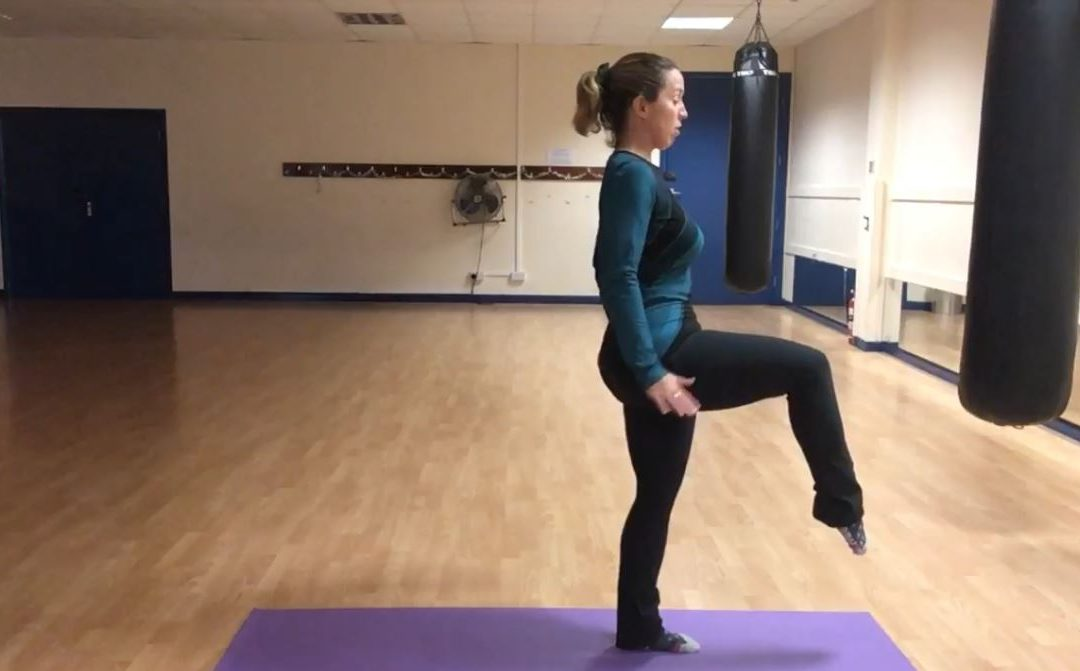 Knee Lift and Lunge