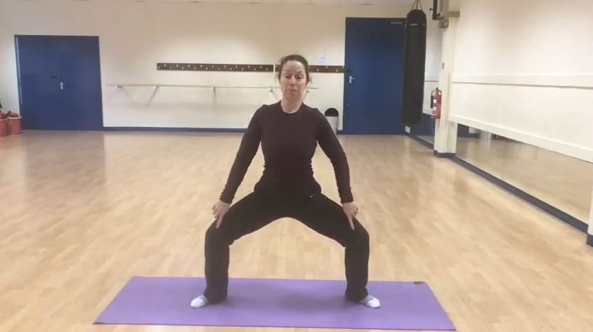Plie Squat Hip Mobility