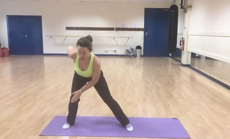 Side Squat Sequence