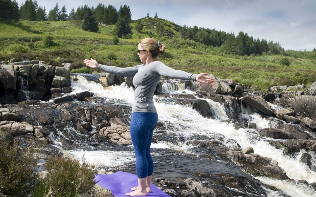 Pilates in the Scottish Glens