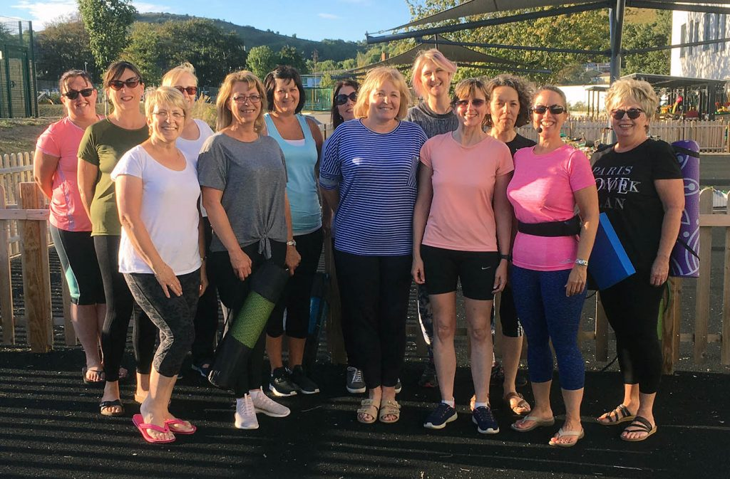 Outdoor Pilates and Aerobics Classes in Folkestone