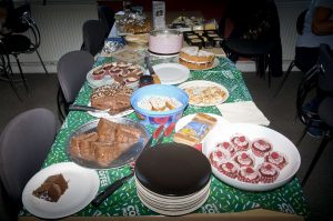 Jane Mackenzie's MacMillan Coffee Morning in Sellindge