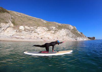 SUP Pilates - Lulworth Cove to Durdle Door