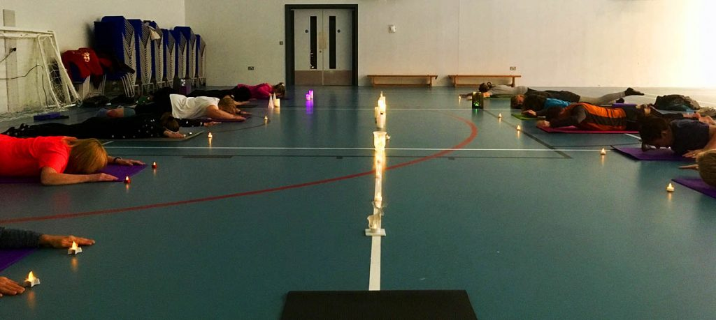 Candle lit Pilates classes in Folkestone