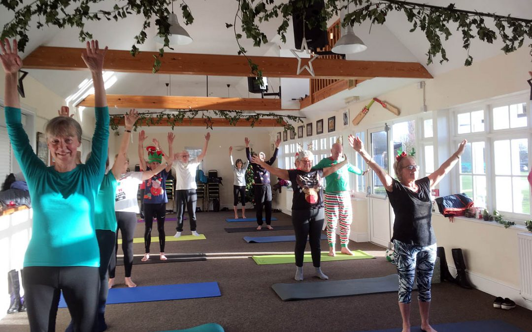 Christmas Pilates Classes 2018