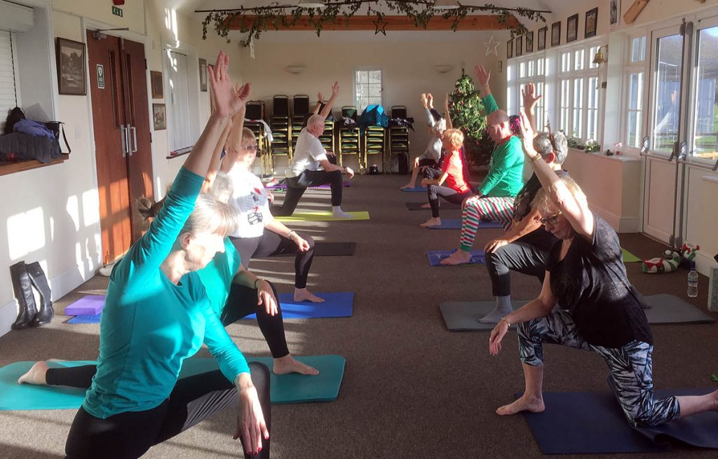 Christmas Pilates Classes in Hythe, Sellindge and Folkestone