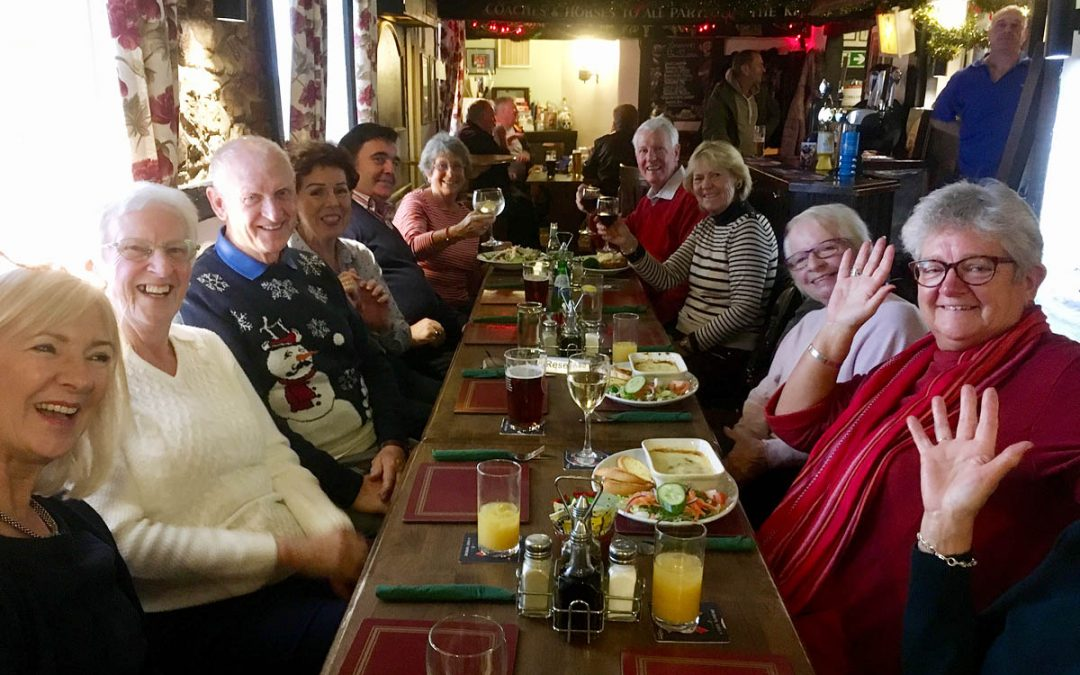 Pilates Christmas Lunch