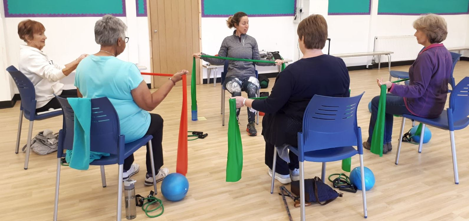 Folkestone Seated Exercise Classes taught by Jane Mackenzie