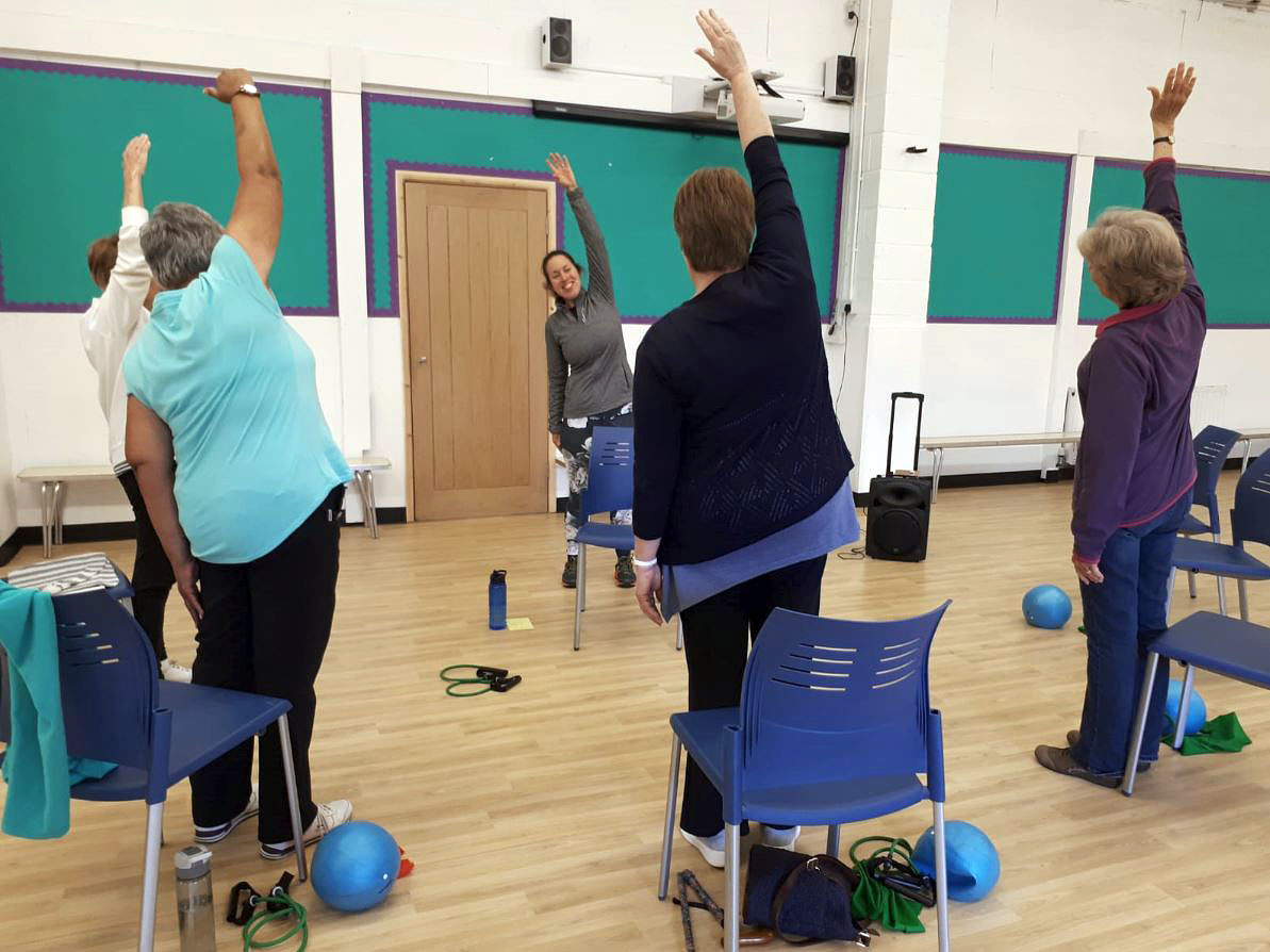 Folkestone Seated Exercise Classes run by MHA Live at Home