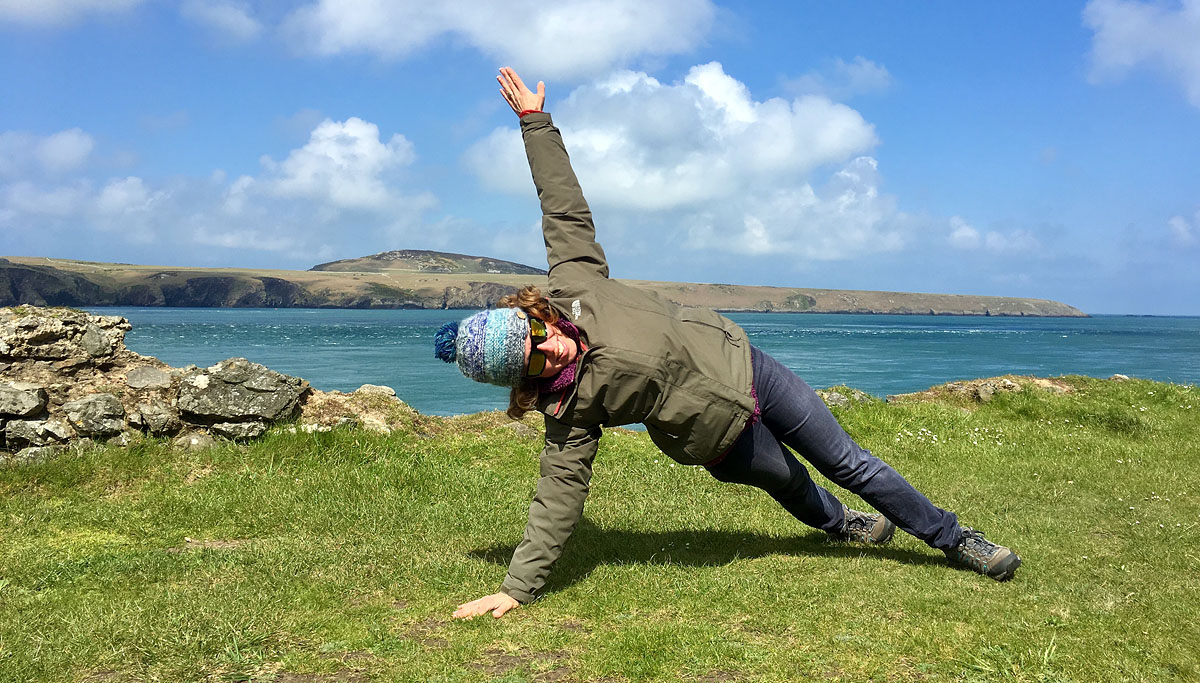 Pilates Ramsay Island St Davids Pembrokeshire