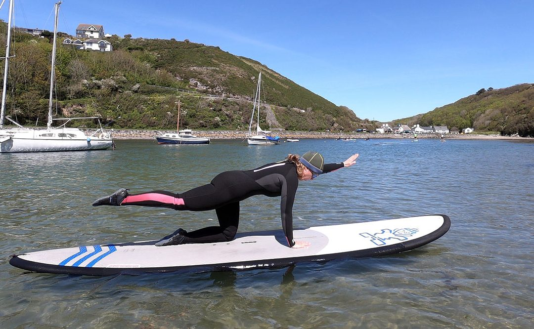 SUP Pilates in Pembrokeshire
