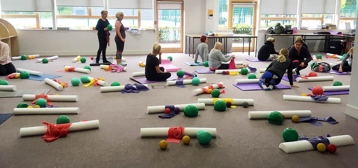 Trigger Point Pilates Training Event - Jane Mackenzie