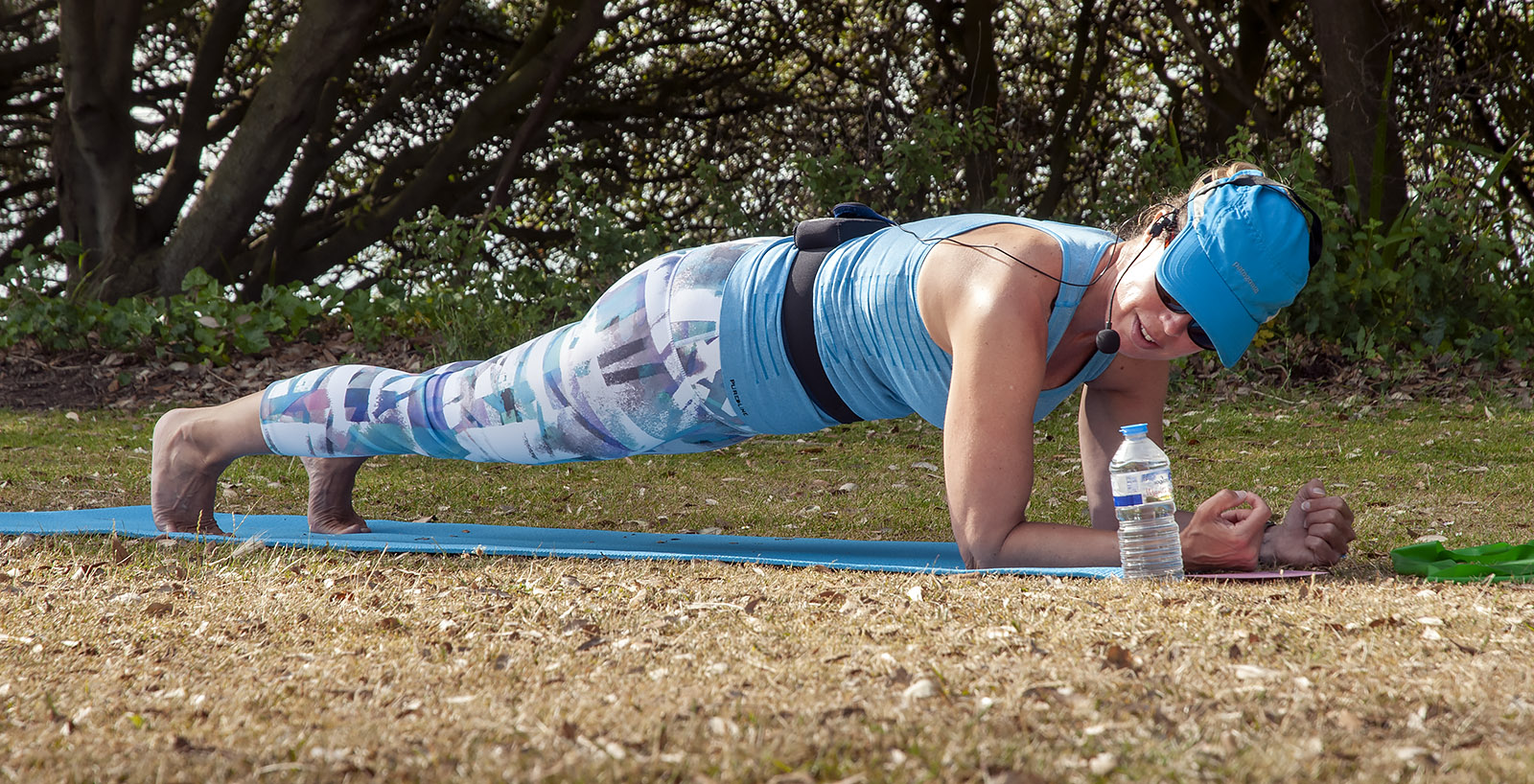 Outdoor Pilates Classes in Folkestone - Jane Mackenzie Pilates full plank