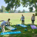 Outdoor Pilates in Hythe with Jane Mackenzie