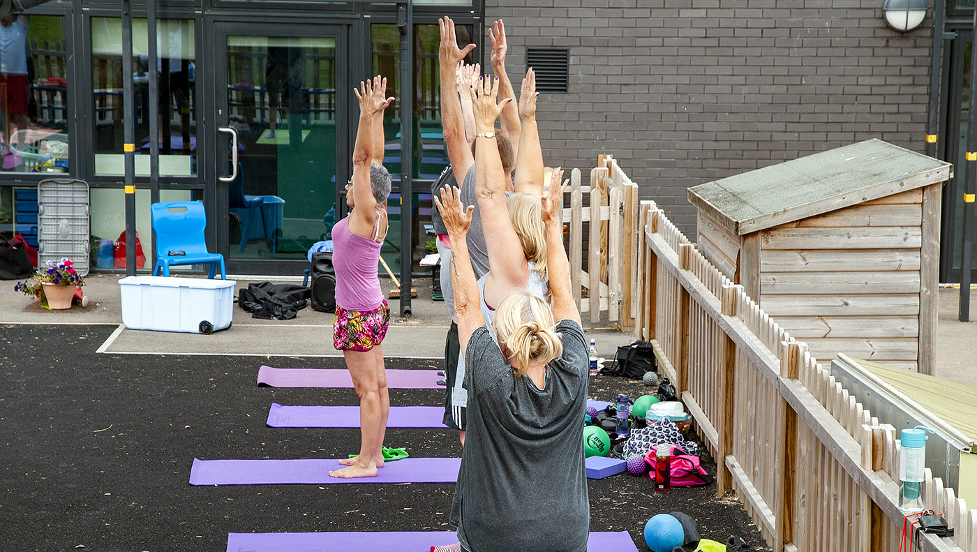 Outdoor Pilates classes in Folkestone
