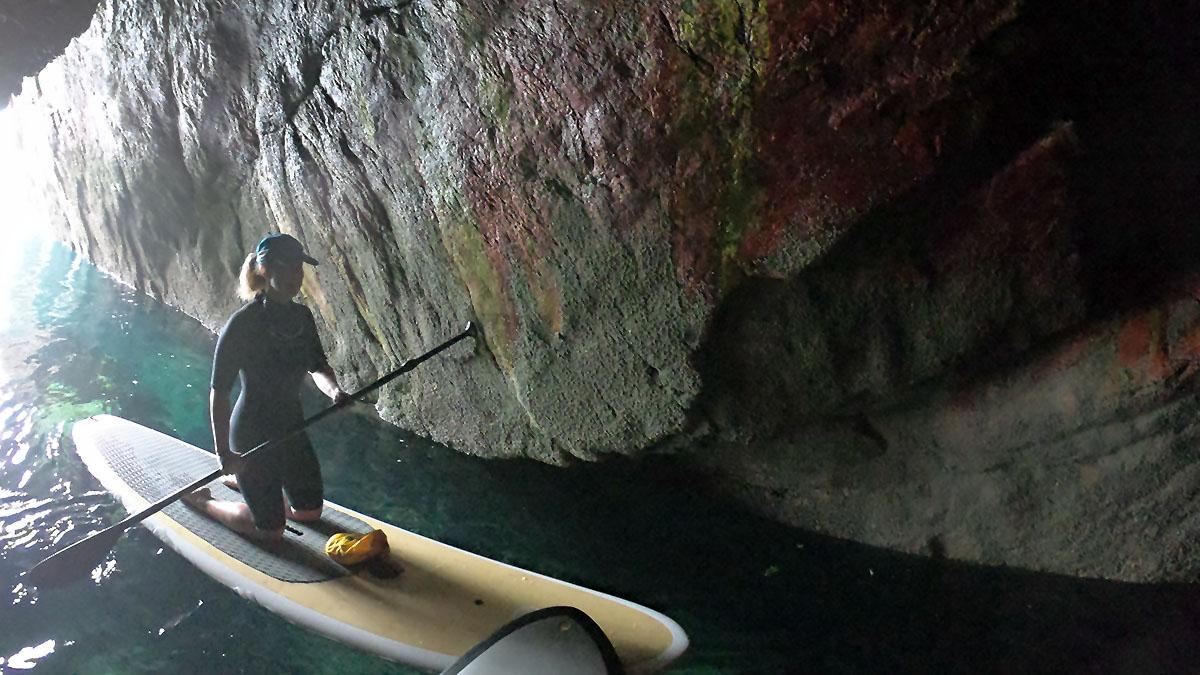SUP Grottes Marines de Morgat