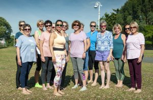 Outdoor Pilates in Folkestone with Jane Mackenzie