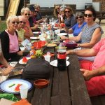 Pilates Picnic in Hythe with Jane Mackenzie's Health and Fitness