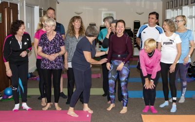 Pilgrims Hospice Charity Online Pilates 27th March
