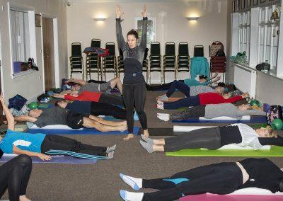 Rockin' Rollers Advanced Pilates Masterclass in Hythe with Jane Mackenzie