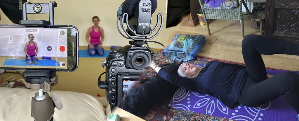 Live video one to one Pilates classes