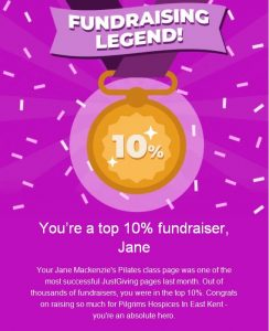 jane mackenzies health and fitness is a justgiving fundraising legend