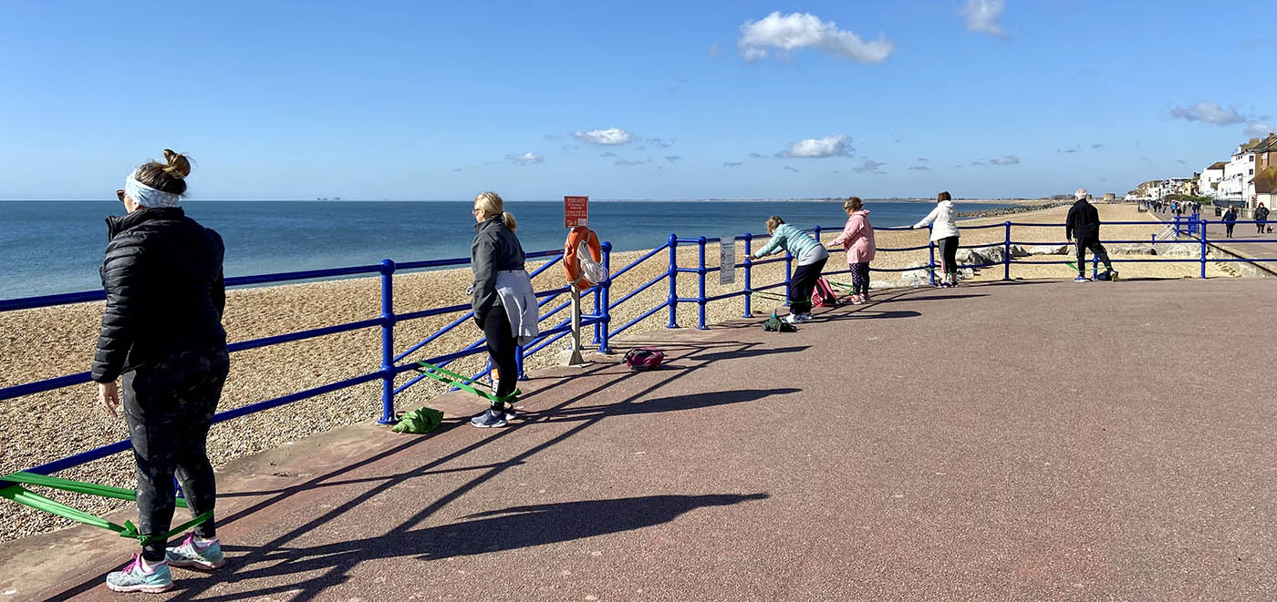 Pilates-Based Outdoor Exercise Classes in Hythe - PowerPilates.